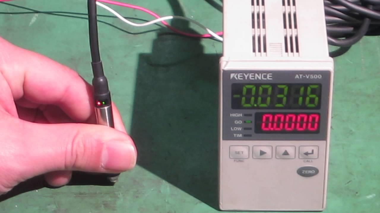 KEYENCE AT001VATV500 High precision contacttype digital – Keyence Nsor Wire Diagram