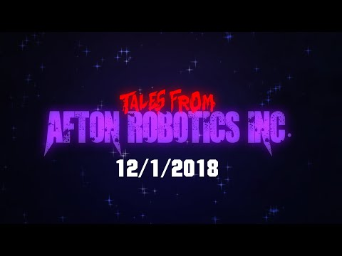 FIVE NIGHTS AT FREDDY'S| TALES FROM AFTON ROBOTICS INC PREMIERE ANNOUNCEMENT! (Skylegend Animation) thumbnail