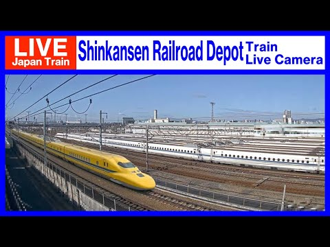 【LIVE】 Live camera of Tokaido Shinkansen in Osaka, Japan