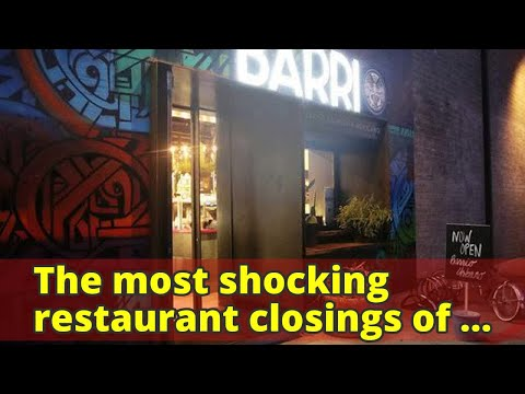 The most shocking restaurant closings of 2017