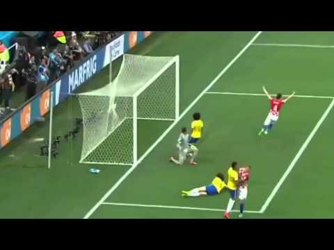 ALL GOALS Brazil vs Croatia 3-1 ~ World Cup 2014