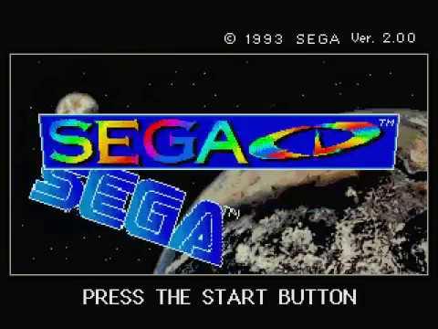 Sega Genesis: Sega CD Start-Up Screen (Bios 2 00)