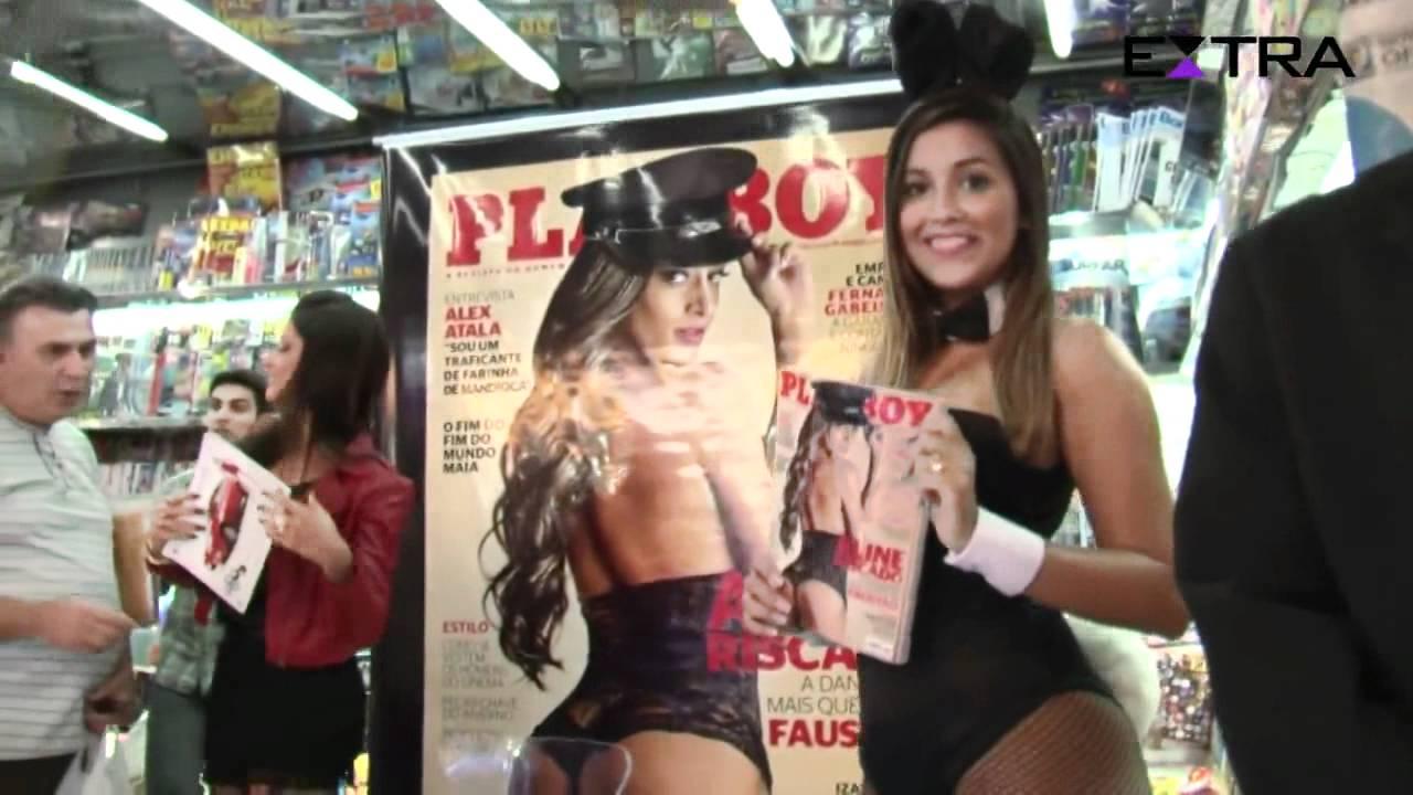 Aline Riscado Playboy aline riscado - sessão de autógrafos playboy