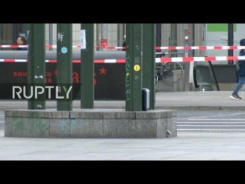 LIVE: Berlin's Potsdamer Platz cordoned off after suspicious suitcase found