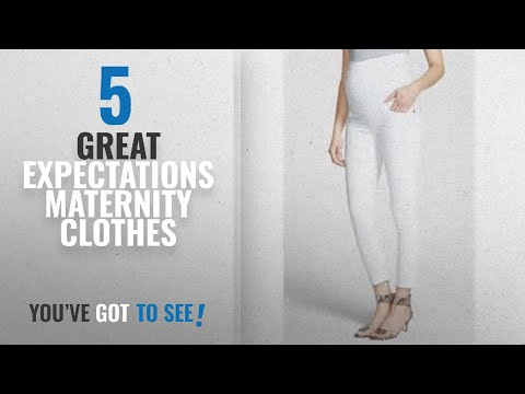 Great Expectations Maternity Clothes [2018]: Great Expectations Maternity Full Panel Ankle Length