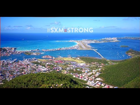 ST MAARTEN / ST MARTIN BEACHES - AFTER IRMA DRONE FOOTAGE -