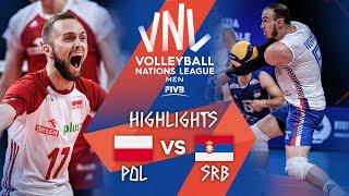POL vs. SRB - Highlights Week 1 | Men's VNL 2021