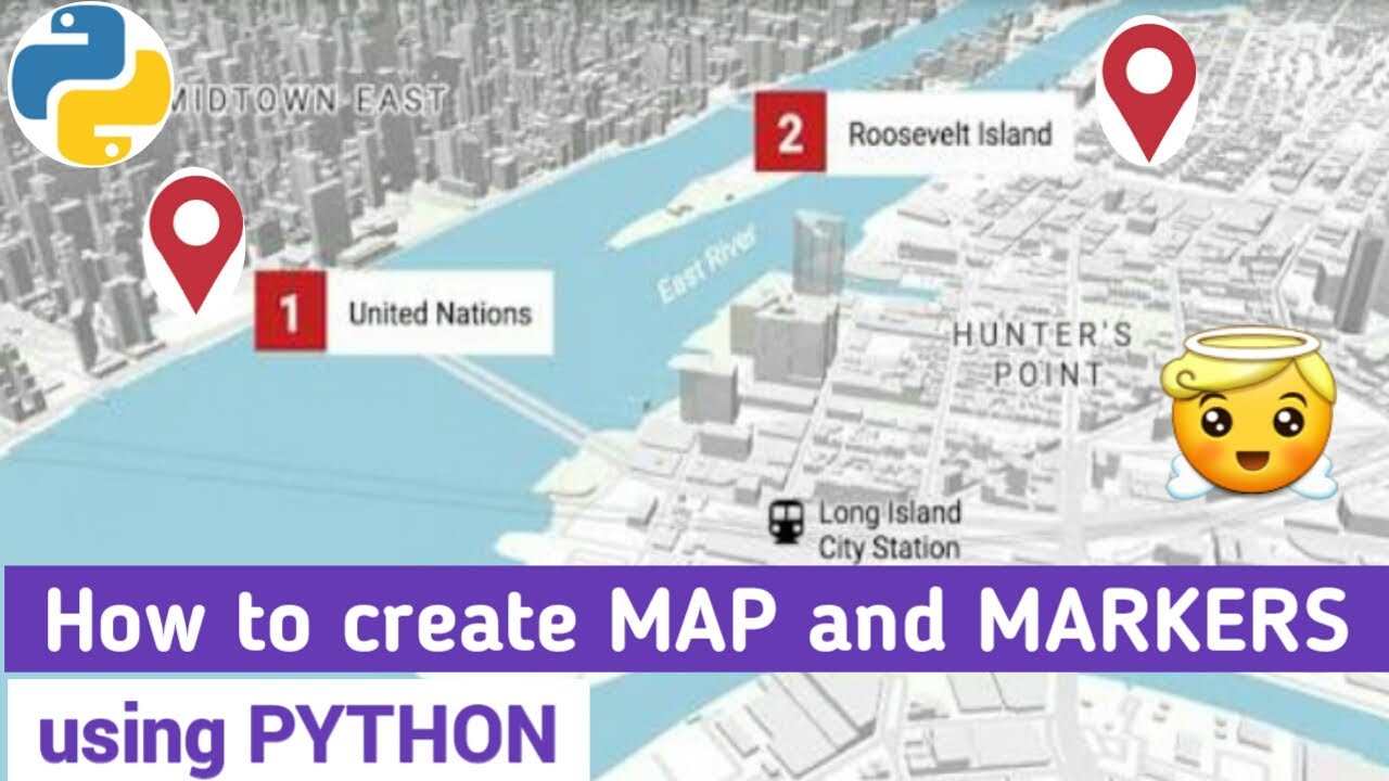 Plotting Google Map using Folium Package in Python