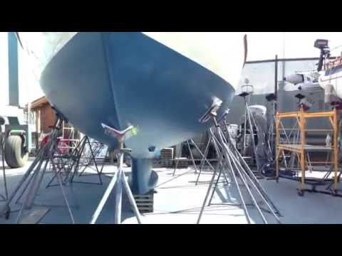Pacific Seacraft 40 Hull design and new bottom paint for sale By: Ian Van Tuyl