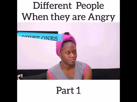 Maraji-Different people when they are angry.