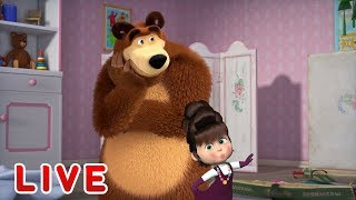 Download Masha and the Bear 🎬💥 LIVE STREAM 💥🎬 Best cartoons for kids and for the whole family Mp3 and Videos