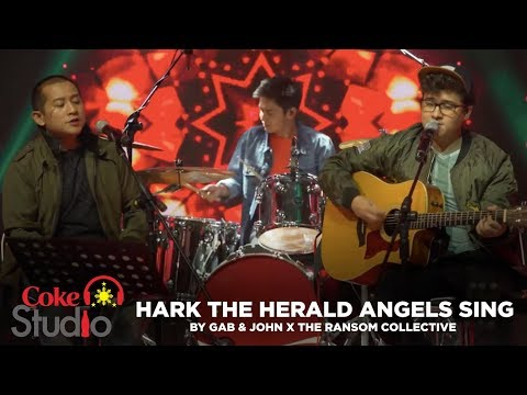"Coke Studio PH Christmas: ""Hark the Herald Angels Sing"" by Gab & John  X The Ransom Collective"