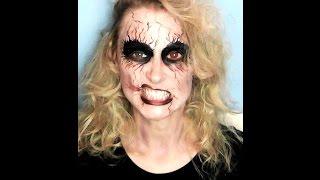 Undead, Corpse Halloween Makeup Tutorial | Primp Powder Pout Thumbnail