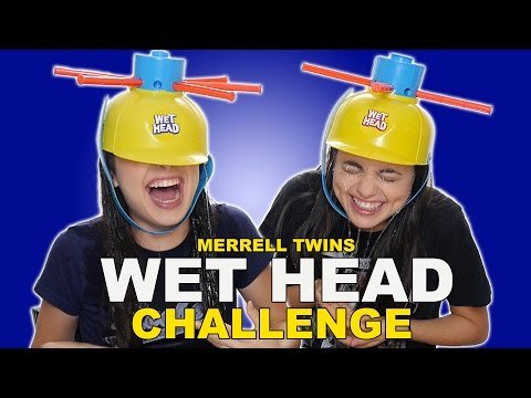 WET HEAD CHALLENGE - Merrell Twins from YouTube · Duration:  12 minutes 52 seconds