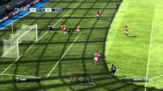 FIFA 2012 Gameplay in Xbox 360, recorded by AVerMedia Game Capture HD