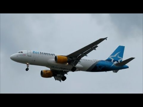 JETLINERS ON LANDING APPROACH IN MONTREAL - 08-07-18