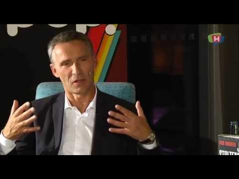 Intervju med statsminister Jens Stoltenberg (Nåværende generalsekretær i NATO).