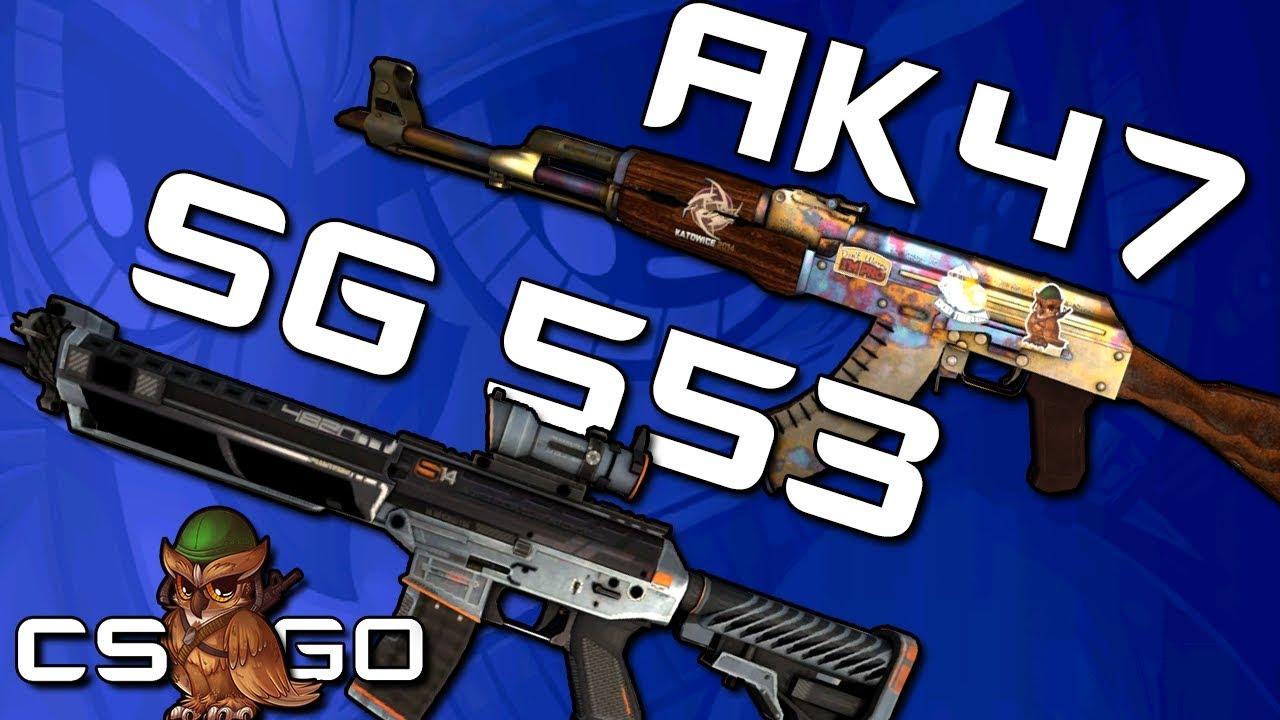 CS:GO's Assault Rifle Dilemma: AK47 vs  SG 553 - Daily Esports