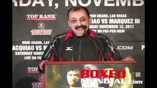 manny pacquiao vs juan manuel marquez iii new york press conference