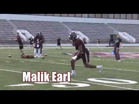 Football Senior Spotlight: Malik Earl