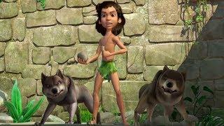 Маугли -Книга Джунглей -  Все серии сразу - сборник серий 16-20 –развивающий мультфильм для детей