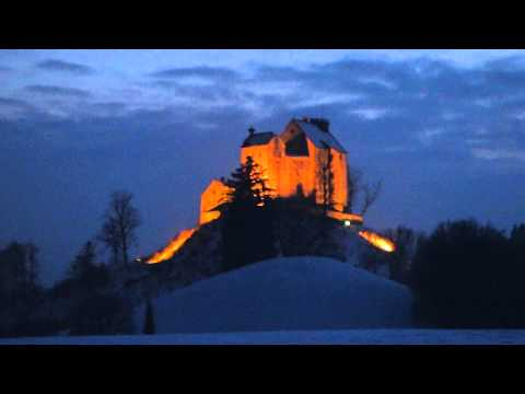 Funkenfeuer Waldburg/Allgäu beim Schädlers Kreuz am 22.2.2015 Teil 1 von 6
