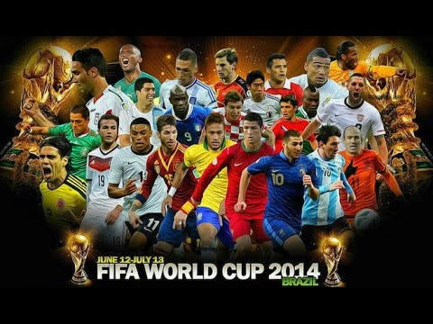 FIFA World Cup 2014  All Goals HD
