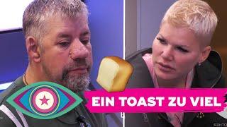 """""""Ich fühle mich bevormundet!"""": Futterneid bei Uwe und Melanie   Promi Big Brother 2021"""