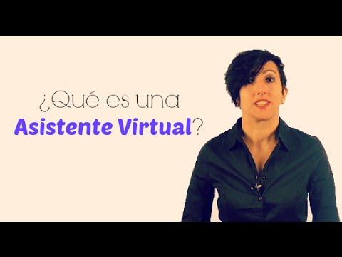 Que es una Asistente Virtual