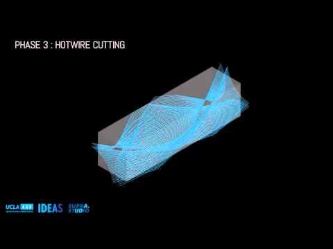 Striating Undulous   Hotwire cut + mass