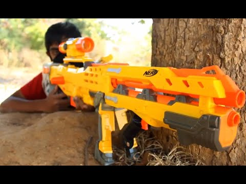 Thumbnail: Nerf Cobra Films:The Nerf Sniper Assassin