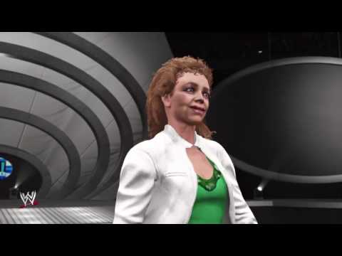 WWE 2k17 The Fabulous Moolah entrance (PS4)