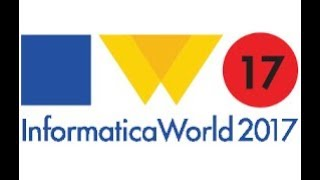 My trip to INFORMATICA World 2017