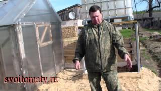 Капельный полив грядок с помощью ленты(, 2014-05-20T09:28:26.000Z)
