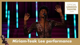 Miriam-Teak Lee performs Baby, One More Time - & Juliet | Olivier Awards 2020 with Mastercard