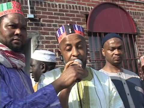 Eid Al Adha pray 2015 in bronx New York July 17th, 2015