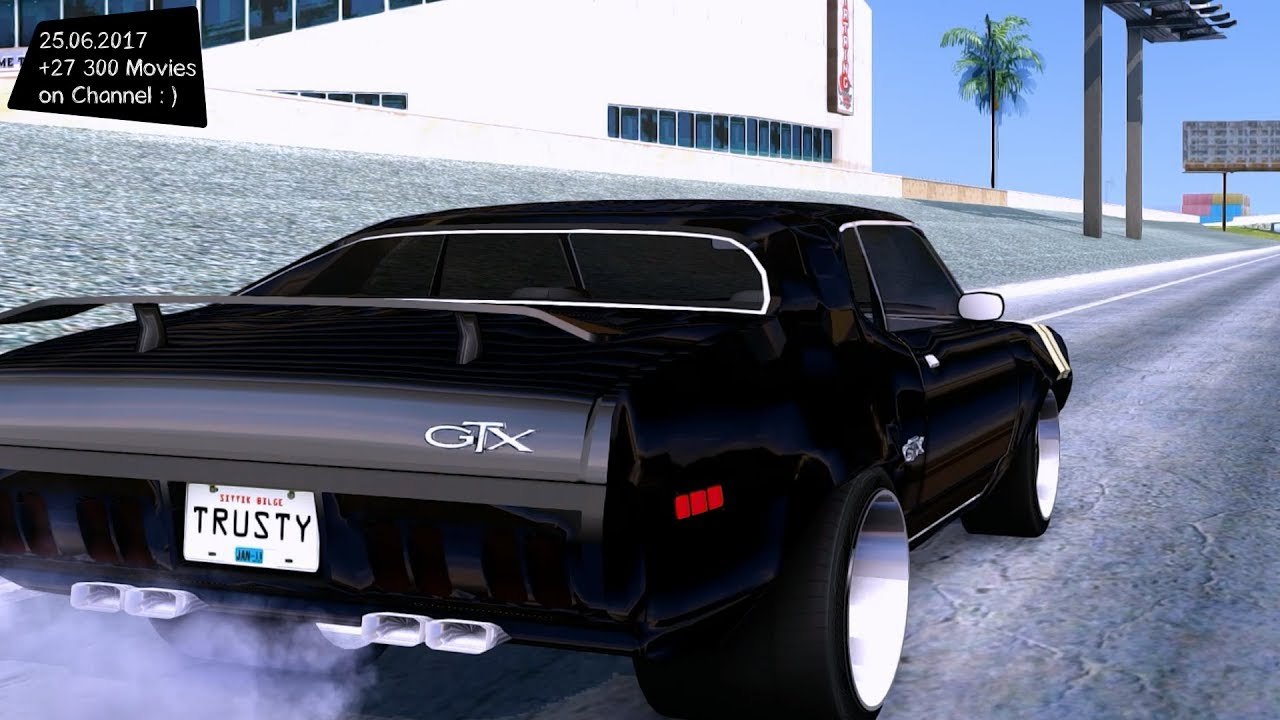 Fate Of The Furious 8 Plymouth Gtx Roadrunner 1972 New ENB Top Speed ...
