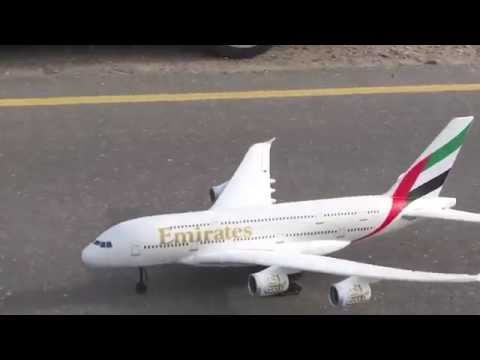 Emirates Airbus 380 RC