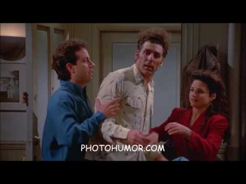 Seinfeld Classics - Kramer Faux Pas Moments saying the wrong thing