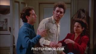 Seinfeld Classics - Kramer Faux Pas Moments saying the wrong thing and getting into trouble!