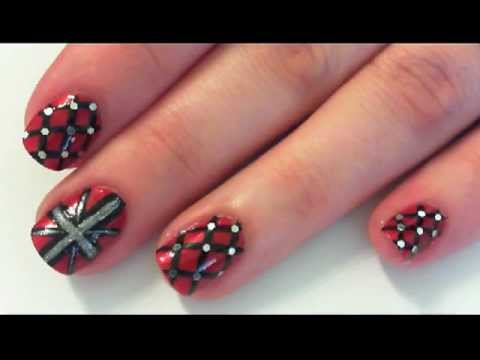 Nail Art Who Let The Punk Out Youtube