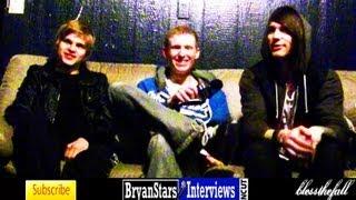 Blessthefall Interview Beau Bokan & Elliott Gruenberg UNCUT 2012