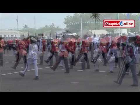 Ghana military drills, just impressive
