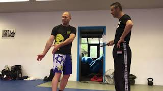 Knife Threats, with Amnon Darsa at Expert Camp, Institute Krav Maga Netherlands.