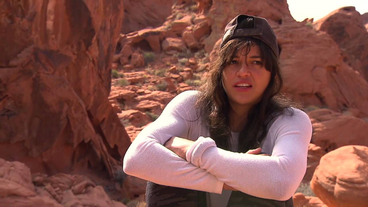 Running Wild With Bear Grylls Michelle Rodriguez Behind -7903