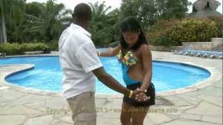Authentic Dominican Bachata: Ambiori&Yonlenis: DR2 Pool
