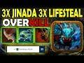 One Click 3X Jinada + 3X Lifesteal [Upgrade tree talent] Ability draft Dota 2