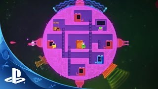 Lovers in a Dangerous Spacetime - Release Trailer | PS4