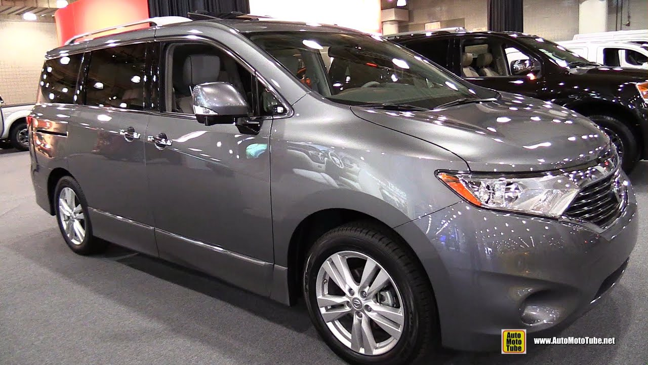2015 nissan quest platinum - exterior and interior walkaround