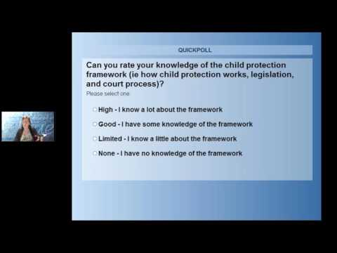 Child protection: the law, our services and how to access legal help for your clients